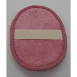 Kézre húzható fürdőszivacs, rózsaszín