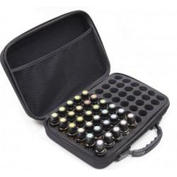 60 db-os illlóolaj tartó táska fekete színű