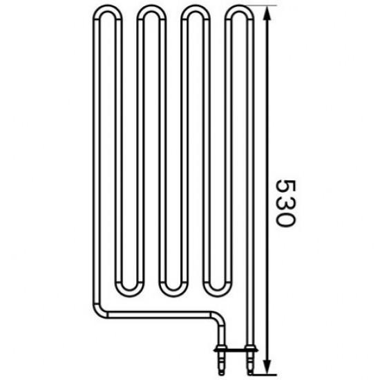 Harvia Wall 2670W/ 230V fűtőbetét