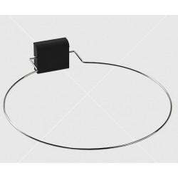 450 mm átmérőjű szaunakályha fölé vészleállító keret