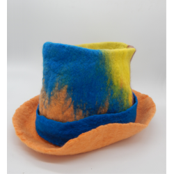 Cilinder szaunasapka merinói gyapjúból különböző színben