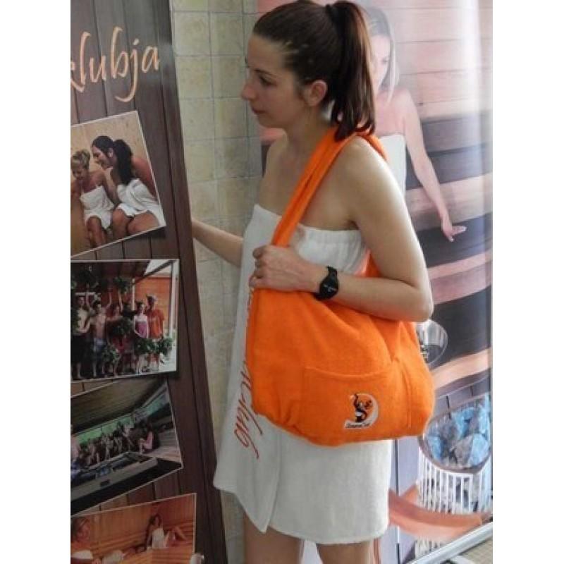 HOT Orange varázs szauna táska - kategóriából Szauna kiegészítők ... 1d59fb4bdf