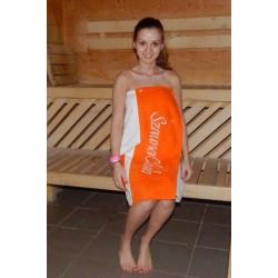 Ice Orange INV női szaunaszoknya